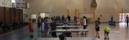 Wyniki drużynowego tenisa stołowego szkół gimnazjalnych.