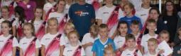 Jacek Wszoła - dwukrotny medalista olimpijski - spotkał się z zawodnikami sekcji lekkoatletycznej.