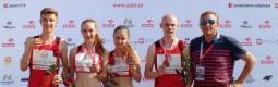 Dominik Rudawski, Maja Dalidowicz, Inez Stefanowicz i Kacper Lewalski wczoraj w Krakowie wywalczyli tytuł Mistrzów…